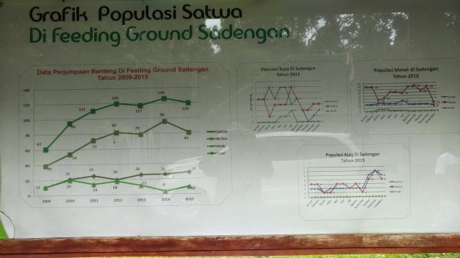 Populasi beberapa Satwa Sadengan