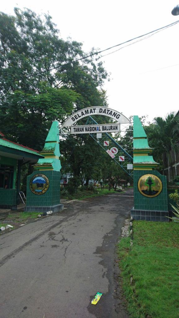 Pintu Masuk Taman Nasional Baluran